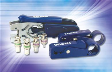 Belden introduces new HD Brilliance® broadcast BNC Connectors, including innovative 1-piece, locking collar design. (Photo: Belden, PR205)