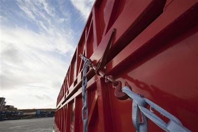 TYCAN® Chains with Dyneema® Replace Steel Chains for Lashing Cargo.