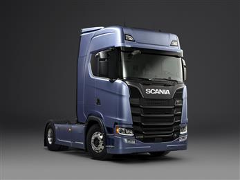 SABIC will be featuring prominently on its booth the latest-generation truck model of Sweden's Scania AB. Ten years in development, this truck includes more than <b>30 applications</b> with thermoplastic materials from SABIC, <b>totalling up to about 140 kg per vehicle</b>.