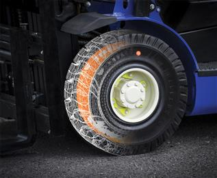 Trelleborg features smart solutions at CeMAT 2016. (Photo Trelleborg Wheel Systems, TWSPR005)