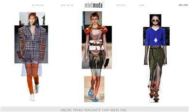 Trend Forecaster MintModa and Color Leader Archroma Partner to Advance the Heighten Impact of Color in Fashion. (Photographs: MintModa)