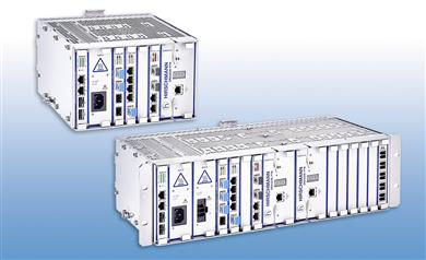 Hirschmann delivers guaranteed bandwidth with power transport nodes. 