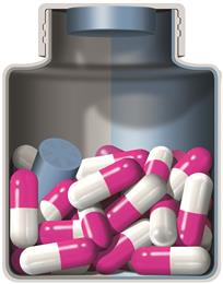 Clariant Desiccant Canisters – active healthcare packaging solutions. (Foto: Clariant)
