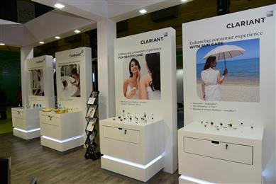 Clariant presents formulation inspirations to enhance consumer experience. (Photo: Clariant)