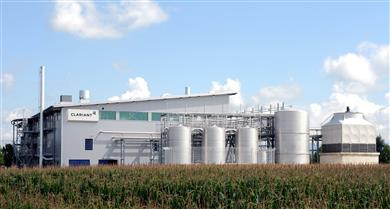 Extensive tests with Enviral's feedstock were conducted at Clariant's pre-commercial plant in Straubing, Germany. (Photo: Clariant)