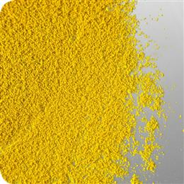 Agrocer Yellow 001 Gran. is one of the first new seed colorants available in pre-dispersed granulated pigment form from Clariant's dedicated range of colorants for the agricultural industry. (Photo: Clariant)
