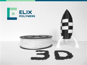 ELIX Polymers extends its portfolio of ABS grades for 3D printing. 