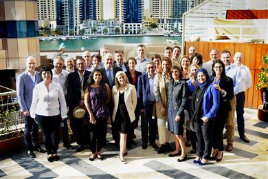 Member Group Photo Eurocom Worldwide Dubai 2017.