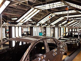 Henkel patented Bonderite two-step process for auto body surface treatment at Audi. (Photo: Henkel, PR039)