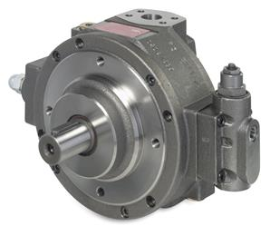 Moog RKP as usual Moog launches new size of high-pressure (350 bar) radial piston pumps. (Photo Moog, MGPR1702)