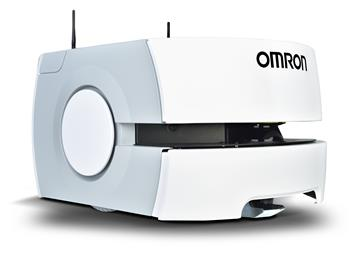 Omron demonstrates complete solution for production efficiency. (Photo: Omron, PR029)