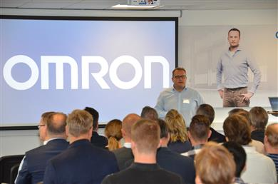 Grand opening day for Omron Nordic Automation Center. 