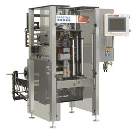 Pro Mach Launches in Europe the Revolutionary 180-Bag-Per-Minute Matrix Morpheus Vertical Form, Fill, and Seal Machine. (Photo: Pro Mach)