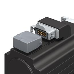 TE Connectivity's heavy duty connectors offer servo and spindle motors reliability and lower installation times. (Source: TE Connectivity, PR162)