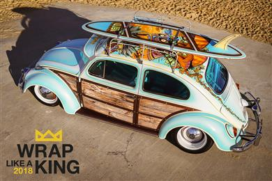 "Avery Dennison® ""Wrap Like A King"" Challenge opens for vehicle wrap submissions"