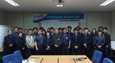 Archroma recently acquired 100% of the shares of M. Dohmen Korea Ltd. The company's name has been changed to Archroma Korea Ltd on April 30, 2018.