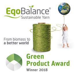 EqoBalance® from Beaulieu Yarns wins Green Product Award 2018.