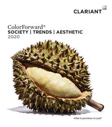 Clariant Color Forecast Says Greens are Back in 2020. 