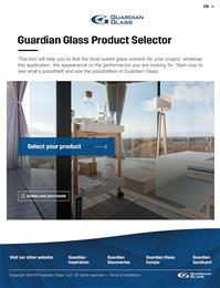 Find the most suitable architectural glass in minutes with the new online Product Selector from Guardian Glass. 