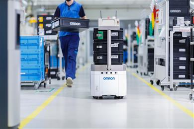 LD robots steal the show at Global Industrie Connected Factory