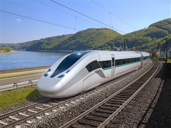 TE Connectivity provides aerodynamic roofline system for new high-speed train. 