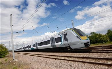 TE Connectivity high-voltage roofline components to supply power on East Anglia's Bombardier Transportation's Aventra trains. 