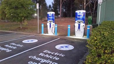 Australia Hits the 50th Public Electric Vehicle DC Fast Charging Site Milestone. 