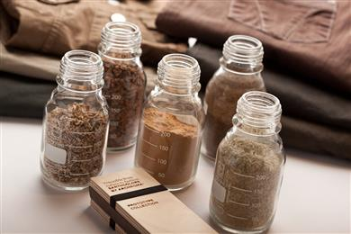 EarthColors by Archroma, a range of dyes synthesized from agricultural waste. 