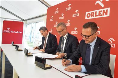 Clariant and ORLEN Południe announce license agreement on sunliquid® cellulosic ethanol technology. (Photo: Clariant)