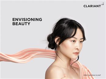 Clariant's Envisioning Beauty brand addresses the need for more natural, high-performing and socially-responsible ingredients. (Photo: Clariant)