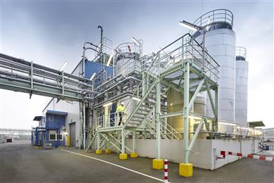 Clariant's additives production facility in Knapsack, Germany powers the production of its halogen-free Exolit flame retardants solely with 100% renewable electricity. 
