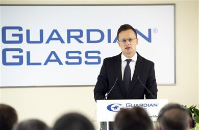 Péter Szijjártó, Minister of Foreign Affairs and Trade of Hungary.