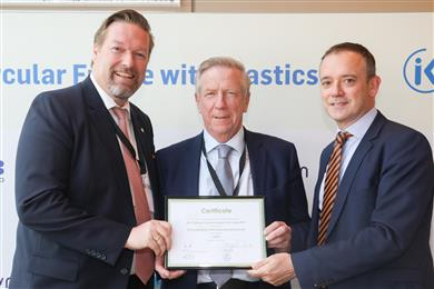 INEOS Styrolution receives award at EuPC event in Berlin.