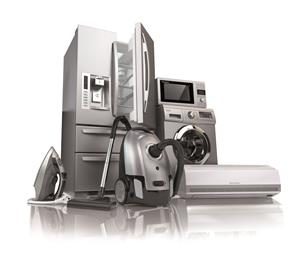home appliances, stock photo.