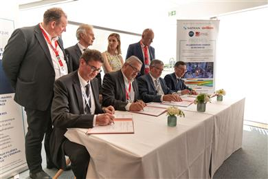 Safran, Oerlikon, CNRS and the University of Limoges create a joint research lab and technology platform for surface treatment in southwest France. 