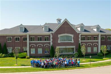 Chase Plastics' employees at the company's Clarkston, Michigan, headquarters.