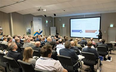 Over 70 delegates from customers in the Benelux region, Finland and the U.K. took in a series of talks on hot topics, as well as a mini exhibition highlighting key application areas for LNP materials.