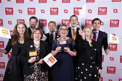 TE Connectivity wins 10th Top Employer Award. (Source: TE Connectivity, PR347)