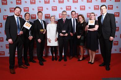 TE Connectivity wins 10th Top Employer Award