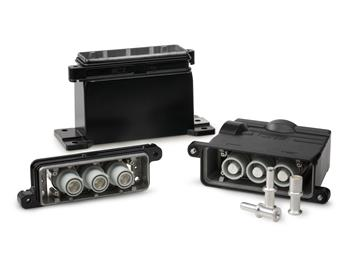 TE Connectivity launches high current connectors for harsh outdoor environments.