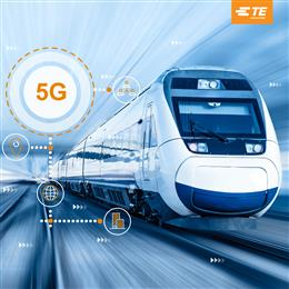 TE Connectivity antennas will bring 5G experience to rail passengers