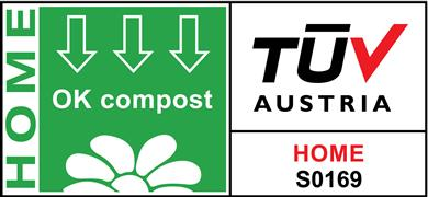 Five plants in Europe and Asia have been awarded OK compost HOME and OK compost INDUSTRIAL labels by the TÜV AUSTRIA Belgium NV testing company. 