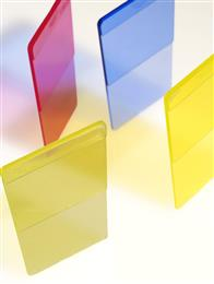 Bright transparent ABS colors combined with antistatic, or laser-welding functionality in MEVOPUR compounds. 