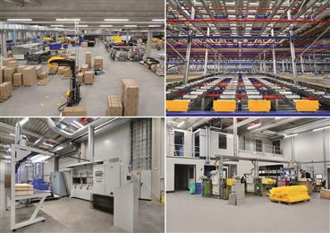 At the company's Duderstadt site in Germany, FoamPartner brought on line an 8,500 square meter Converting Center, which was designed as a highly digitalized and automated 'Smart Factory' to set new standards in the manufacturing of foam components. 