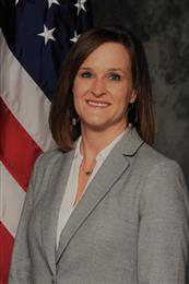 Beth Dittmer, division chief, propulsion integration at Tinker AFB. 