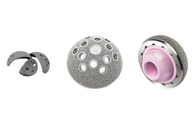 Examples of AK Medical implants manufactured on Arcam EBM machines.
