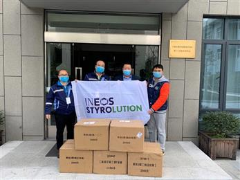 INEOS Styrolution dispatches 20,000 face masks to Foshan and Ningbo in support of Coronavirus (COVID-19) relief efforts