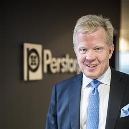 Jan Secher, CEO, Perstorp.