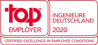 "TE Connectivity receives award for being a ""Top Employer"" Germany in the Engineering category. (Source: TE Connectivity, PR416)"